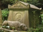 chief-mourner-his-dog